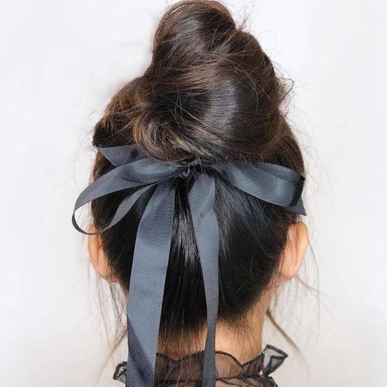 muito sexy este penteado #acessorios #cabelo