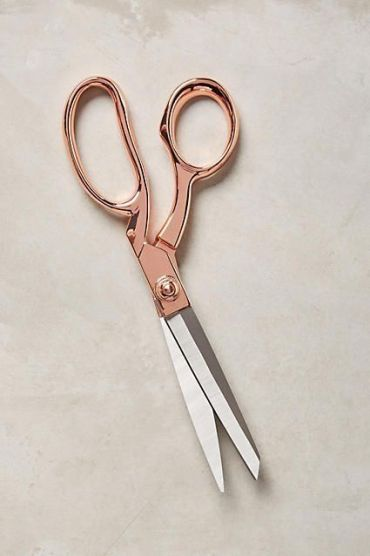 #scissors #rosegold_