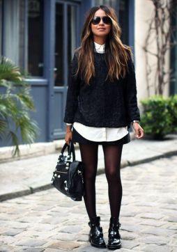 Aprenda a usar meia calça - com diversos modelos de calçados - em variadas ocasiões, conheça benefícios da meia cor da pele e veja looks para se inspirar_