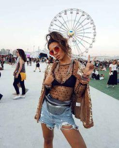 Inspirações de looks para usar em Festivais de Música
